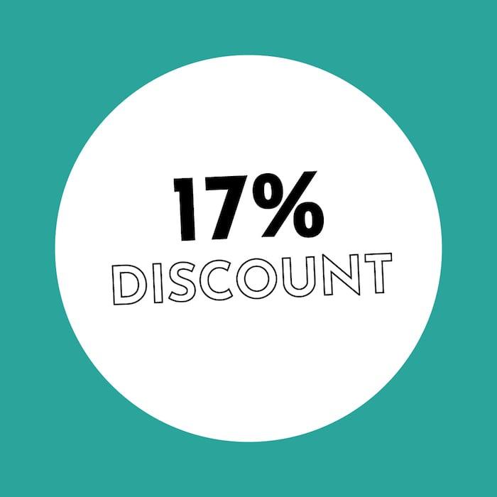 17% Discount Holzkern