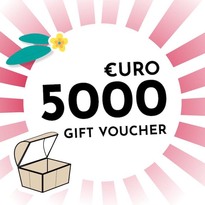 €5000 Voucher