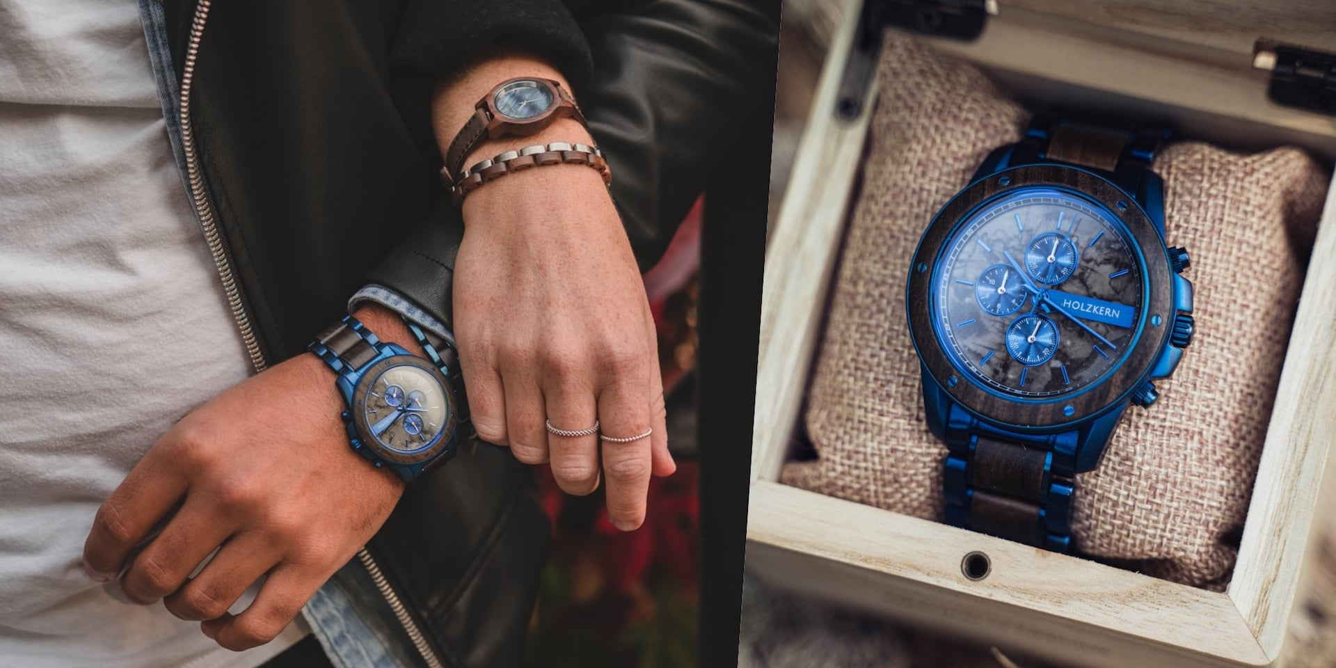 Our chronograph Kay and our women's model Côte dAzur