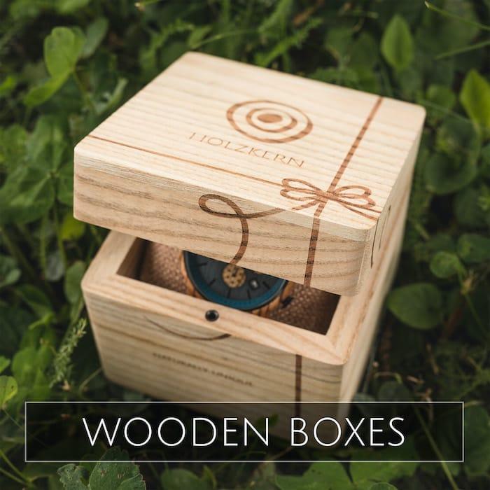 Holzkern boxes